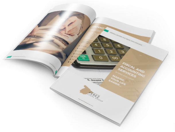 Brochure for Fiscal and Accounting Services - Perez Legal Group